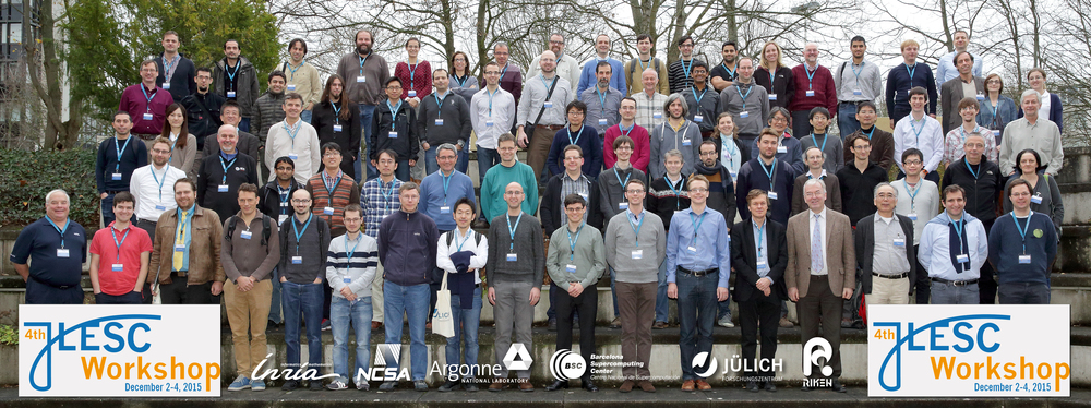 Participants of the 4th JLESC Workshop